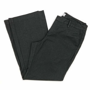 GAP Charcoal Gray Stretch Favorite Trousers 14